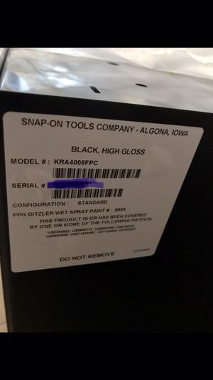 Brand New Snap-On Tool Box Never Used for Sale in Clermont, FL