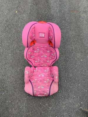 Magenta graphic design car booster seat for Sale in McLean, VA