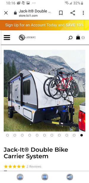 RV Double Bike Carrier 2 Bike Carrier for Sale in Scranton, PA