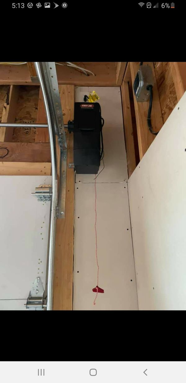 Garage door opener and doors