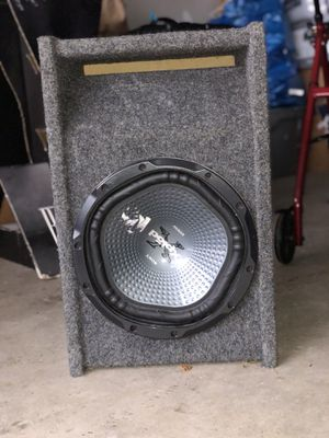 Subwoofer & Amplifier for Sale in Gaithersburg, MD