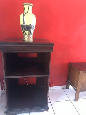 Cabinet shelves tv stand wood for Sale in Bal Harbour, FL