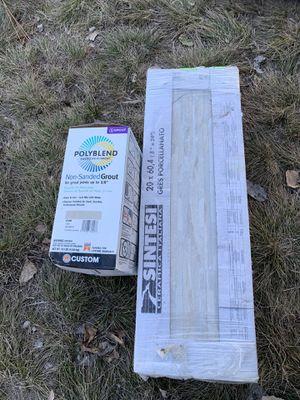 Free left over tile for Sale in Spokane, WA