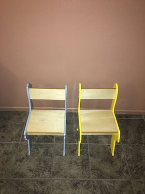 Kid chairs - wooden - pkolino brand for Sale in Los Angeles, CA