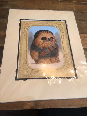 Wonderground Star Wars Chewbacca Print for Sale in Orange, CA