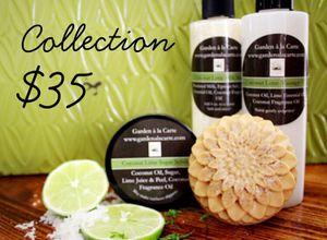 Spa Products (8oz. sugar scrub, 9 oz. oil, ~4oz. soap and 9oz. Milk bath) for Sale in Cooper City, FL