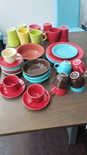 Fiestaware LOT (29) for Sale, Various Colors for Sale in Cedar Park, TX