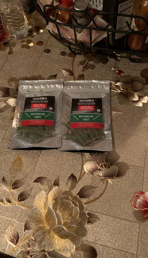Smashed GummIEs 100 mg watermelon tubes for Sale in East Compton, CA