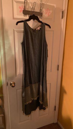 Nanette Leopore Designer Denim High-Lo Pocket Dress for Sale in Aurora, CO
