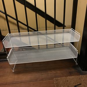 Stackable Shoe Rack from Container Store for Sale in Los Angeles, CA