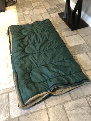 Coleman adult camping sleeping bag for Sale in Melrose Park, IL
