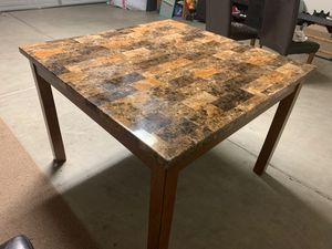 Artificial Marble Kitchen Table for Sale in Visalia, CA