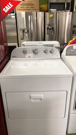 🌟🌟Large Capacity Electric Dryer Whirlpool White #833🌟🌟 for Sale in Orlando, FL