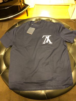 Louis Vuitton navy forever T-shirt shirt medium for Sale in San Francisco, CA
