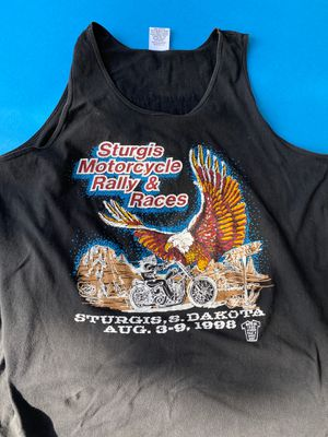 Harley Davidson tank top from 1998 Sturges rally! for Sale in Baltimore, MD