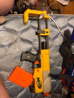 Nerf gun and parts for Sale in Oregon City, OR