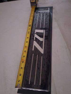 Rear door still plates with Z71 Silverado Suburban for Sale in Montebello, CA