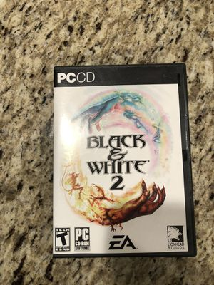 Black & White PC CD rom for Sale in Charlotte, NC