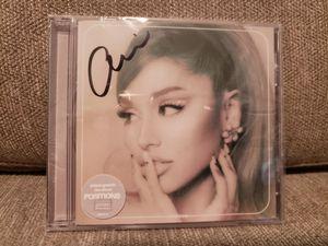 Ariana Grande signed Positions CD Sealed for Sale in Atlanta, GA