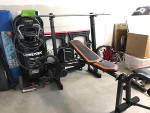 Weight bench with fly presses. for Sale in Clovis, CA