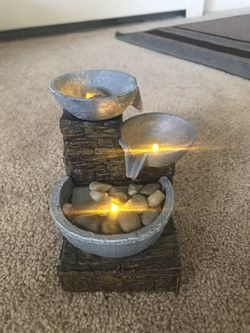 Cascading bowl brick led fountain for Sale in Weymouth,  MA