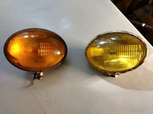 Vintage L & M lamp company brass fog lights for Sale in Woodbury, MN