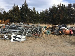 Galvanized sign or fence post for Sale in Tulsa, OK