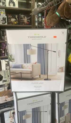 Floor lamp threshold new for Sale in Fort Myers, FL