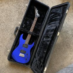 Jackson JS Series Reverse Headstock Electric Guitar - Blue (with Case) for Sale in Pasadena,  CA