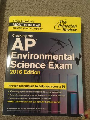 AP Environmental Science Exam 2019 Edition for Sale in Lexington, KY