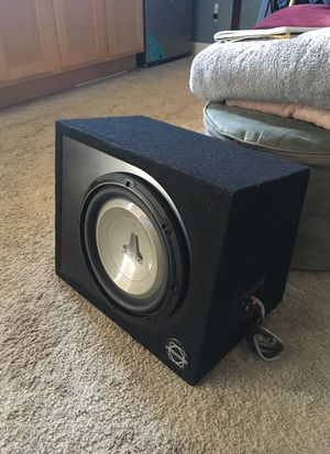JL subwoofer + kicker amplifier + box for Sale in San Francisco, CA