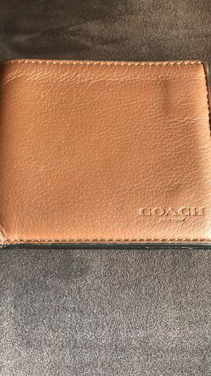 Coach men's wallet for Sale in Walnut Creek, CA