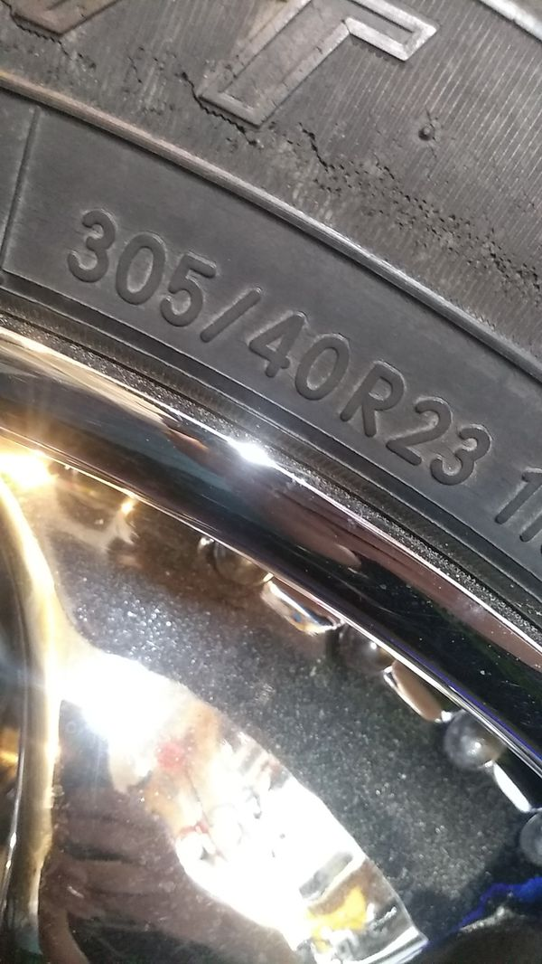 """23"""" Wheels. Chevy 6 lug Trades welcome."""