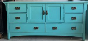 Turquoise 8 Drawer Dresser for Sale in Rockwall, TX