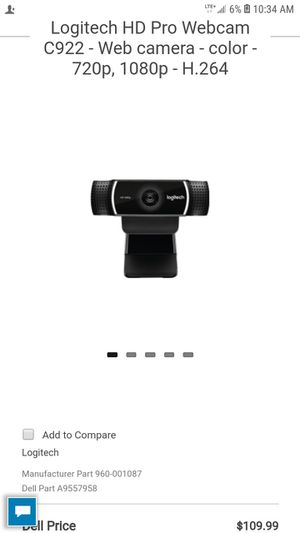 Logi camera for Sale in Hawkins, TX