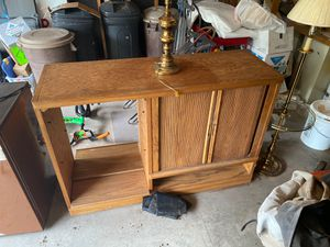 Entertainment center free this weekend for Sale in Pinetop, AZ