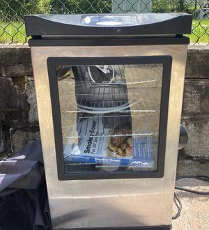 Master built Electric smoker for Sale in MD, US