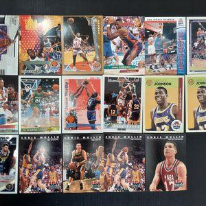 Assorted Basketball/Baseball/Football Cards Lebron, Rodman, Brees, Magic for Sale in Alexandria, VA