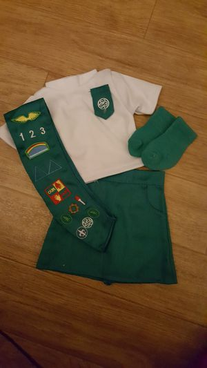 Used, AMERICAN GIRL DOLL GIRL SCOUT OUTFIT UNIFORM for Sale for sale  Port St. Lucie, FL