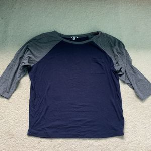 Blue and gray baseball tee for Sale in Seattle, WA