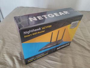 Netgear Nighthawk AC1750 Smart Wifi Router. Gaming, streaming, faster for mobile devices. Brand new for Sale in Brooklyn, NY