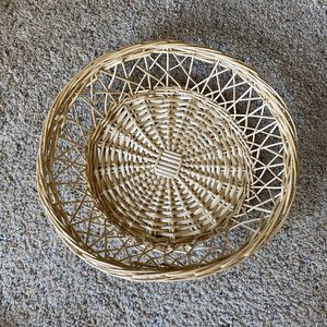 ‼️Large Detailed Wicker Basket‼️ for Sale in Edgar, WI