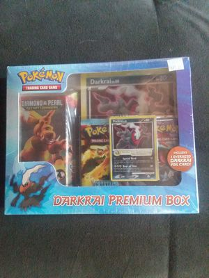 Pokemon sealed darkrai premium box - 2008 diamond and pearl secret wonders incredibly rare MINT condition for Sale in Tumwater, WA