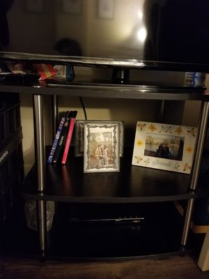 Pemberly Row 3--Tier TV Stand in Ravenwood Black. for Sale in Seattle, WA