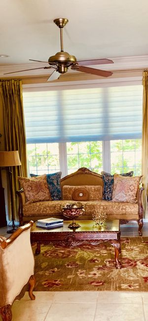 Horchow set like new ..includes sofa and two chairs for Sale in Freehold, NJ