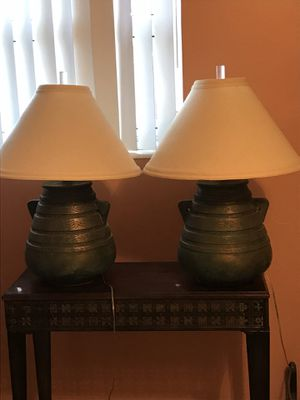 Two big lamps for Sale in Fort Lauderdale, FL