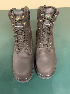 Men's steel toed work boots size 10 for Sale in Bloomingdale, IL