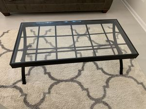 Set of 3 coffee tables (glass) for Sale in Annandale, VA