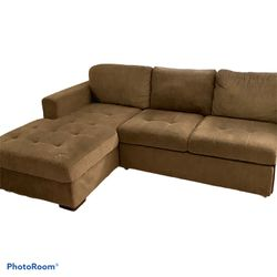 3 Pc Sleeper Sectional W/ Storage Chaise for Sale in Scottsdale,  AZ