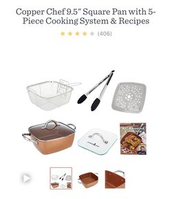 Copper Chef 6 in 1 - pan set for Sale in West Covina,  CA